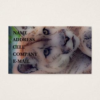 'Totem Panther' Business Card