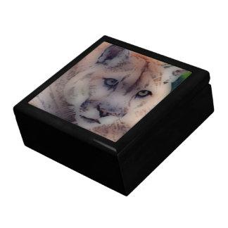 'Totem Panther' Keepsake Box