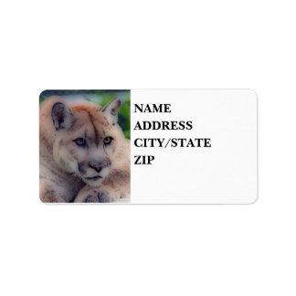 'Totem Panther' Label