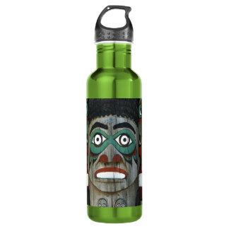 Totem Pole 24oz Water Bottle