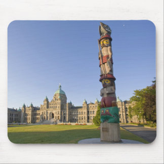 Totem pole at the Parliament building in Mouse Pad