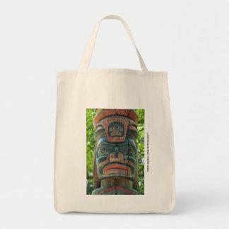 Totem Pole Canvas Bags