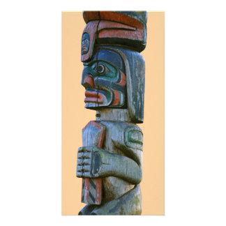 Totem Pole Card Photo Card