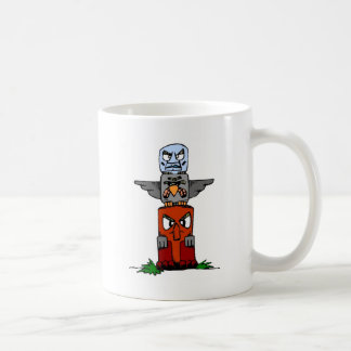 Totem Pole Coffee Mug