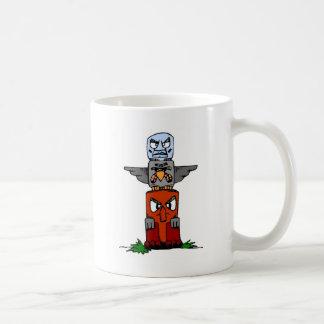 Totem Pole Coffee Mugs