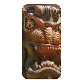 totem pole face  iPhone 4/4S cover