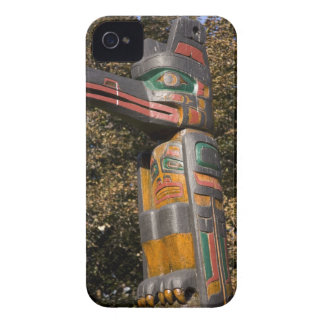 Totem pole in park in Ottawa, Ontario, Canada iPhone 4 Case
