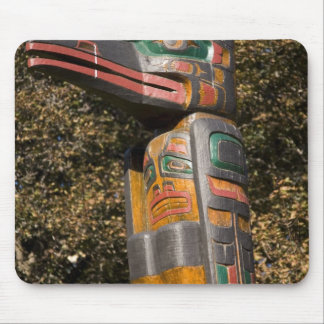 Totem pole in park in Ottawa, Ontario, Canada Mouse Pad
