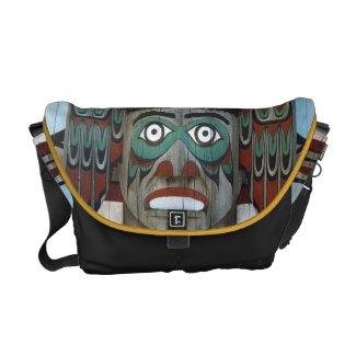 Totem Pole Messenger Bag