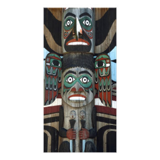 Totem Pole Photo Card