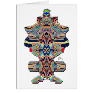 totem pole series stationery note card