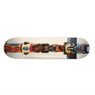 Totem Pole Skate Deck