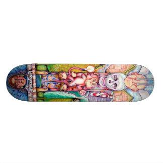 totem pole skateboard