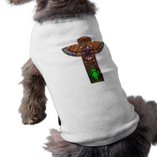 Totem Pole Spirit Creatures Doggie T-shirt