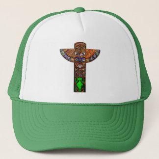 Totem Pole Spirit Creatures Trucker Hat
