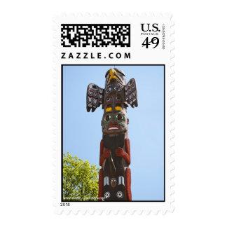 Totem Pole Stamp