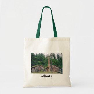 Totem Poles, Alaska Tote Bag