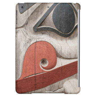 Totem poles at Haida Heritage Centre Museum iPad Air Cases