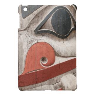 Totem poles at Haida Heritage Centre Museum iPad Mini Cases