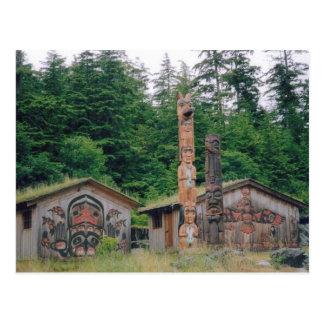 Totem Poles Postcard