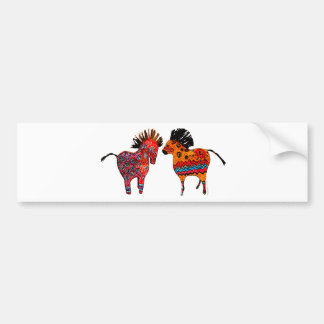 Totem Ponies Gifts and apparel Bumper Sticker