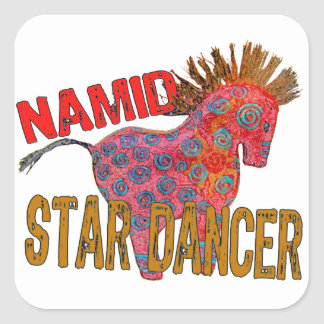 Totem Pony Namid the Star Dancer Square Sticker