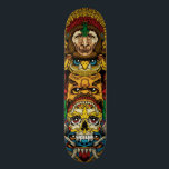 "Totem Skateboard Deck<br><div class=""desc"">Totem Art Deck By: Pale Horse</div>"