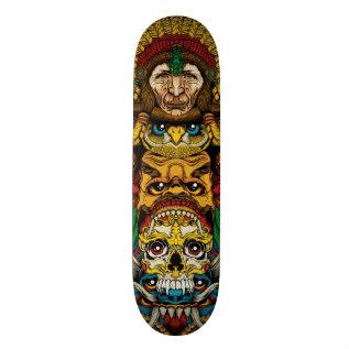 Totem Skateboard Deck at Zazzle