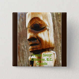 TOTEM SPIRIT Art Collection Button