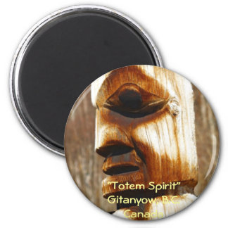 TOTEM SPIRIT Art Collection Fridge Magnets