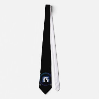 totem - wolf neck tie