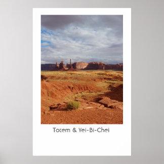 Totem & Yei-Bi-Chei Poster