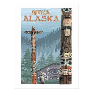 Tótemes de Alaska - Sitka Alaska Postal