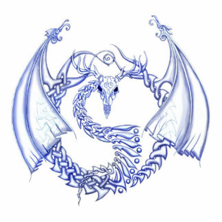 Totemic Dragon Cutout