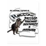TOTEMS TOTEM RACCOON TEACHES DEXTERITY / DISGUISE POSTCARD