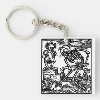 Totentanz Death and the Boy key chain