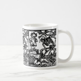 Totentanz Death and the Boy mug
