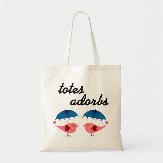 Totes Adorbs Cute Birds and Umbrellas