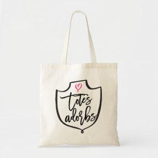 TOTES ADORBS wedding day tote bag for bridesmaids