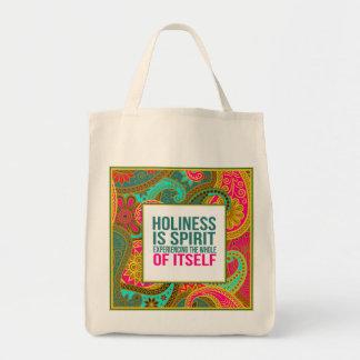 Totes durables del ultramarinos bolsa tela para la compra