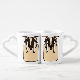 Totes ma Goats (No Text) Coffee Mug Set