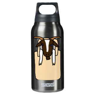 Totes ma Goats (No Text) Insulated Water Bottle
