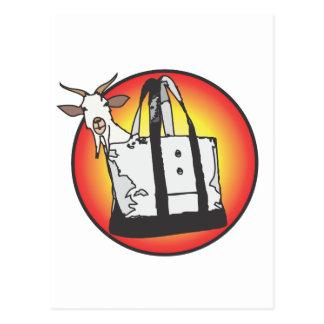Totes Ma Goats Post Card