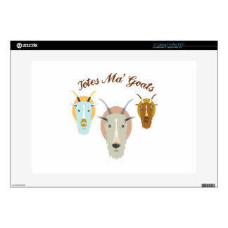 Totes Ma' Goats Laptop Decal