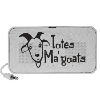 Tote's Ma' Goats Speaker