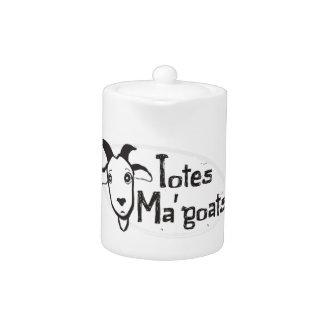 Tote's Ma' Goats Teapot