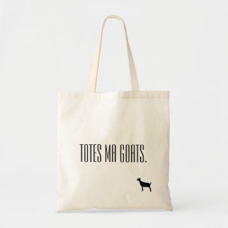 Totes Ma Goats Tote Canvas Bags
