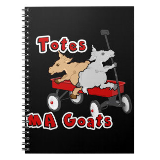 Totes MaGoats FunnY Goat Meme Notebooks