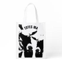TOTES MAGOTES Reusable Grocery Shopping Bag