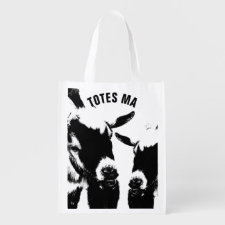 TOTES MAGOTES Reusable Grocery Shopping Bag